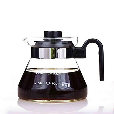 Heat Resistant Glass Tea Set Teapot Direct Fire Pot Flower Pot With Lid Temperature Can Be