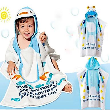 1 PC Full Cotton Bath Robe 47 by 23 inch Cartoon Pattern