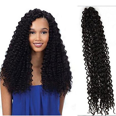 Full Head Crochet Box Braids : 6packs full head Freetress curly crochet hair water/curly wave 18inch ...