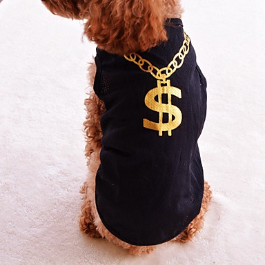 Cute handsome vest summer breathable cool dog clothing us for Cute shirts for 5 dollars