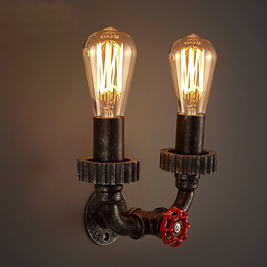 2 Heads Vintage Industrial Metal Wall Lights Restaurant Cafe Bar Decoration lighting 5396939 ...