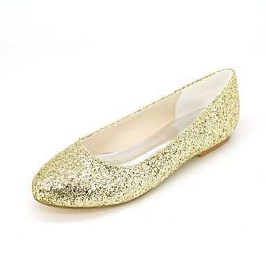 wedding party evening casual flat heel black gold sliver other