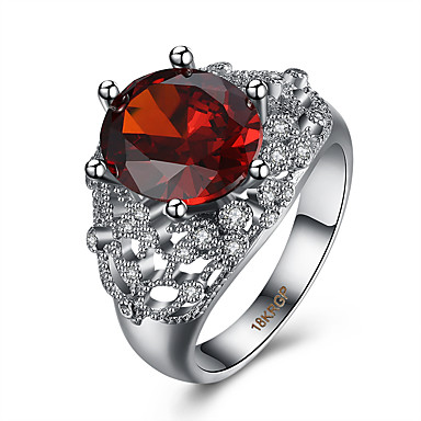Ring AAA Cubic Zirconia Halloween Wedding Party Daily Casual Sports Jewelry Z