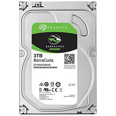 Seagate 3TB Desktop Hard Disk Drive 7200rpm SATA 3.0(6Gb/s) 64MB CacheST3000DM008