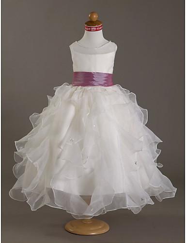 Как сделать платье для девочки из органзы