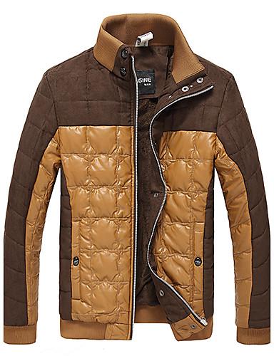 Slim pied de col en velours couleur de charme de manteau de jne fox homme - Photo de charme en couleur ...