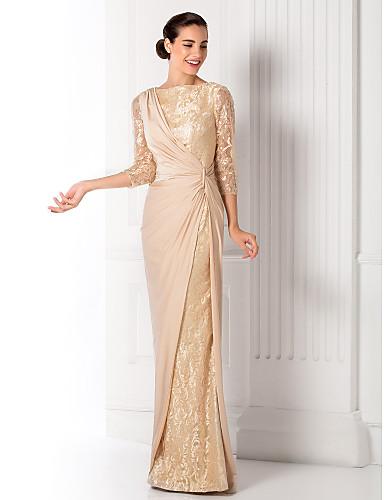 Vestido para madrinha de casamento dourado