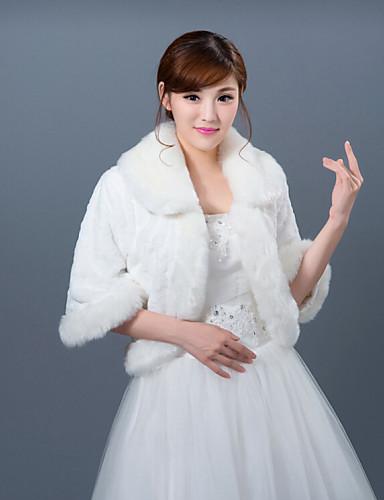 Winter wedding robe coat bridesmaid dresses shawl 4431862 for Winter shawls for wedding dresses