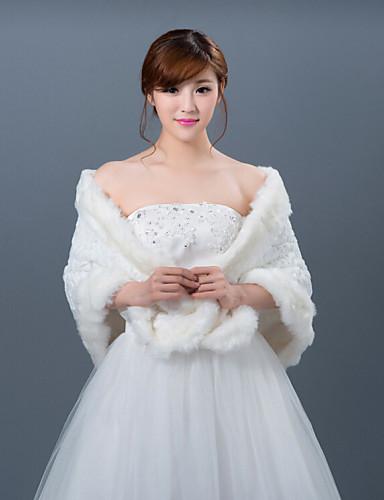 Winter wedding robe coat bridesmaid dresses shawl 4431875 for Winter shawls for wedding dresses