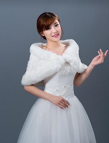 Winter wedding robe coat bridesmaid dresses shawl 4431873 for Winter shawls for wedding dresses