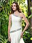 Lanting Bride® Tube / kolonne Petit / Plus Størrelser Brudekjole - Chic og moderne / Elegant og luksuriøs Børsteslæb Etskuldret Chiffon