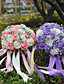 "Cvijeće za vjenčanje Krug Roses Buketi Vjenčanje Party / Večernji Pjena 10.24 ""(Approx.26cm)"