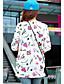 Vrouwen Eenvoudig / Street chic Lente / Herfst / Winter T-shirt,Casual/Dagelijks Print Ronde hals Lange mouw MeerkleurigKasjmier / Wol /