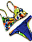 Damen Bikinis - Floral Drahtlos Nylon / Polyester Halfter