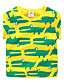 Trykt mønster,Guttens Sommer T-skjorte Bomull