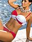 Damen Stirnband Bikinis Einheitliche Farbe Polyester