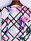 Nais- Hihaton Polyesteri Vintage/Kuvio Alushameet ,  Joustamaton ,  Ohut