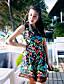 Uden ærmer Kvinders Vintage Jumpsuits Uelastisk Polyester / Nylon