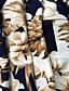 Femme Grandes Tailles Jupes FleurTaille Haute Bohème Maxi Décontracté / Quotidien Polyester Elasthanne Elasticité Extensible Eté
