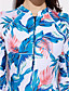 Damen Tankinis - Floral Nylon / Elasthan Halfter