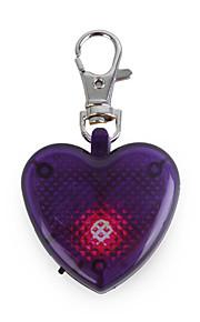 Gatos / Cães Marcadores Luzes LED / Estroboscópio / Forma de Coração Púrpura Plástico