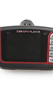 "FM bil 1,8 ""LCD bil MP4-afspiller med FM-modulator & fjernbetjening, sort"
