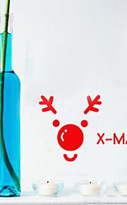 kerst decoratie muurstickers vakantie ornamenten
