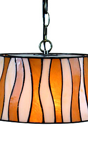 stilvolle tiffany Pendelleuchte mit 2 Leuchten