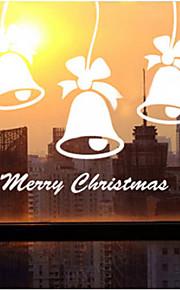 décoration de Noël stickers muraux vacances ornements cloches