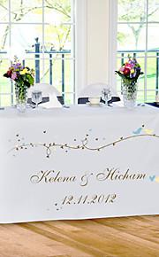 tabellen center tilpasse resepsjonen table runner - våren bord deocrations