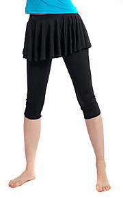 Jazz Women's Polyester Jazz Pant With Skirt