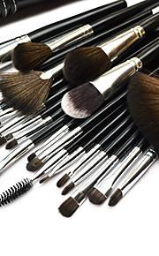 24 Brush Sets Overige / Nylonkwast Lip / Oog / Gezicht