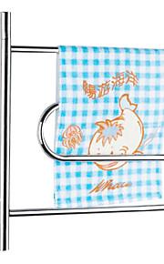 40w swing arm muurbevestiging ronde buis handdoek droogrek