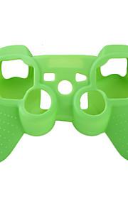PS3コントローラ(緑)用保護シリコンケース