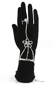 Legering Dames Armbanden Bergkristal