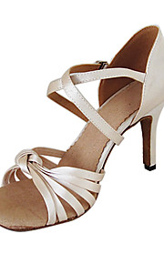 Customized Women's Satin Arch Strap Latin / Ballroom Dance Performance Shoes (More Colors)