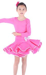 smukke dancewear viscose latin dans kjole til børn flere farver