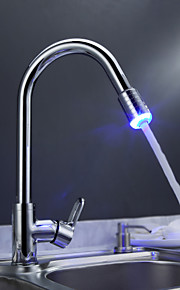 ripottele ® by lightinthebox - messinkiä kaatamaan keittiön hana värinvaihto led valo