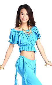 prachtige dancewear cystal katoen buikdans top voor dames meer kleuren