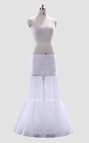 Polyester A-Line/Short Flare Full-Length Style de glissement de mariage / Petticoat