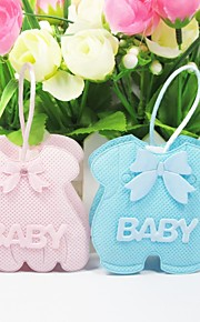 Pink/Blåt Part favoriserer og gaver Baby Shower Yndlingstasker Klassisk Tema Ikke-personaliseret 12Stykke/Sæt
