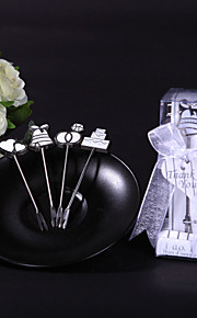 """I DO, I DO"" Hors d'oeuvre Forks Wedding Favor"