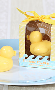 baby shower gummi ducky sæbe favoriserer