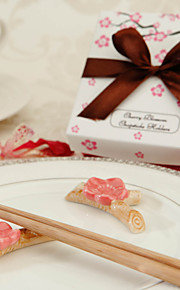 céramique fleur de cerisier reste baguettes (jeu de 2)