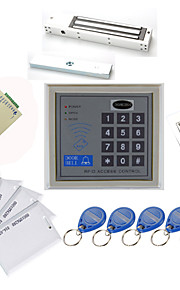 Stand Alone Access Controller Kits (Magnetic Lock 280kg, 10 EM-ID-kaart, Power Supply)