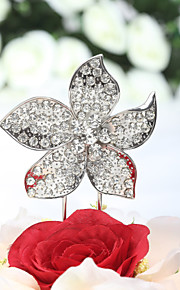 Cake Toppers Gorgeous Rhinestone Flower Cake Topper (More Sizes)