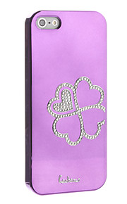 Clover Pattern Hard Case for iPhone 5/5S (Assorted Colors)