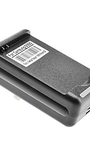 Amerikaanse Battery Charger met USB-uitgang voor Samsung I9300/Galaxy S3 (4.2v/5.2v)