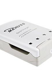 MaXuSS snellader voor AA AAA NI-MH batterij