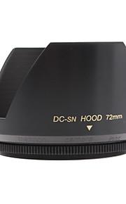 Mennon 72mm Parasol para objetivos de cámaras digitales Lentes 16mm +, 28mm Film +